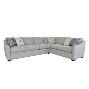 2 Pce Upholstered Sectional