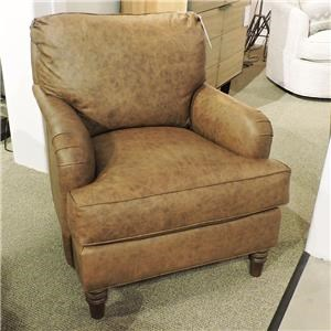 Traditional Leather Chair