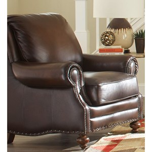 Craftmaster Traditional Leather Chair
