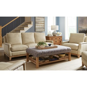Transitional Stationary Living Room Group