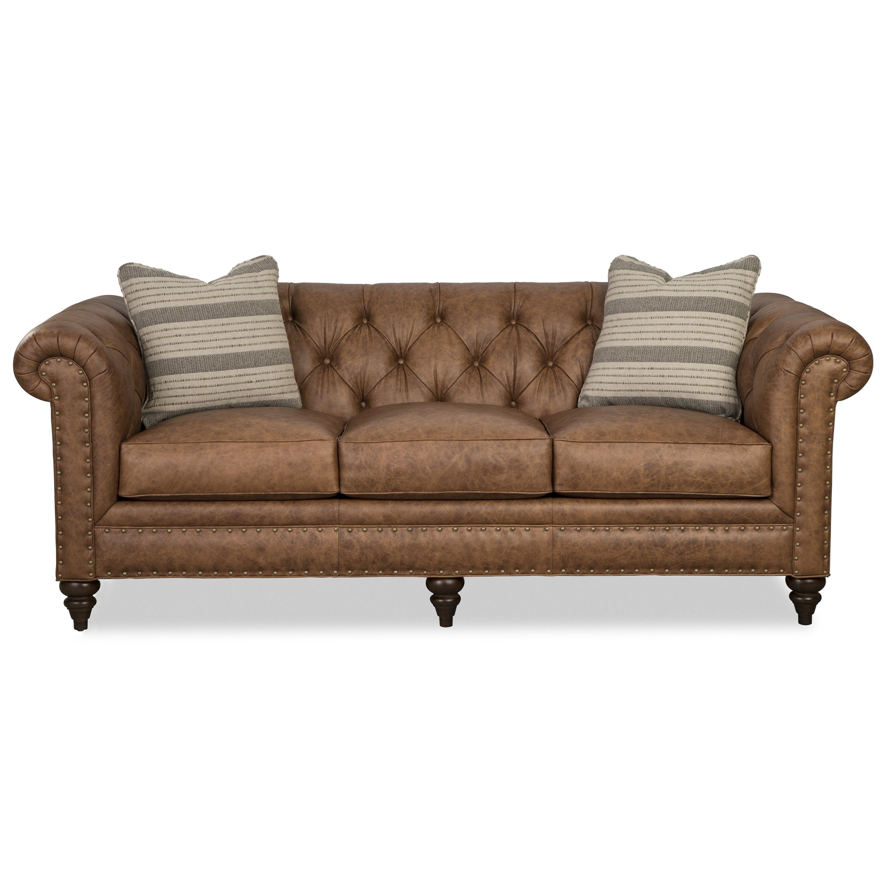 L743150 88 Inch Sofa w/ Pillows by Craftmaster at Baer's Furniture