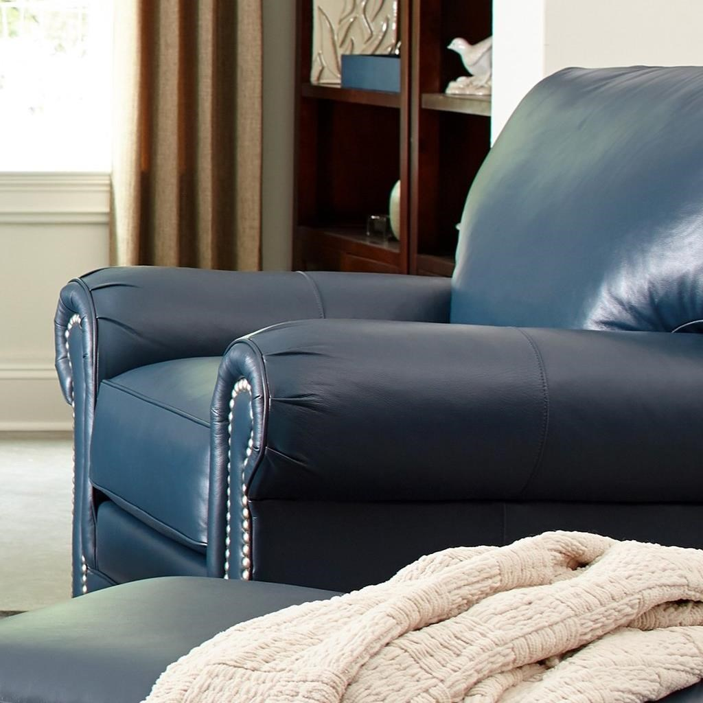 L756550 Chair w/ Nailheads by Craftmaster at Suburban Furniture