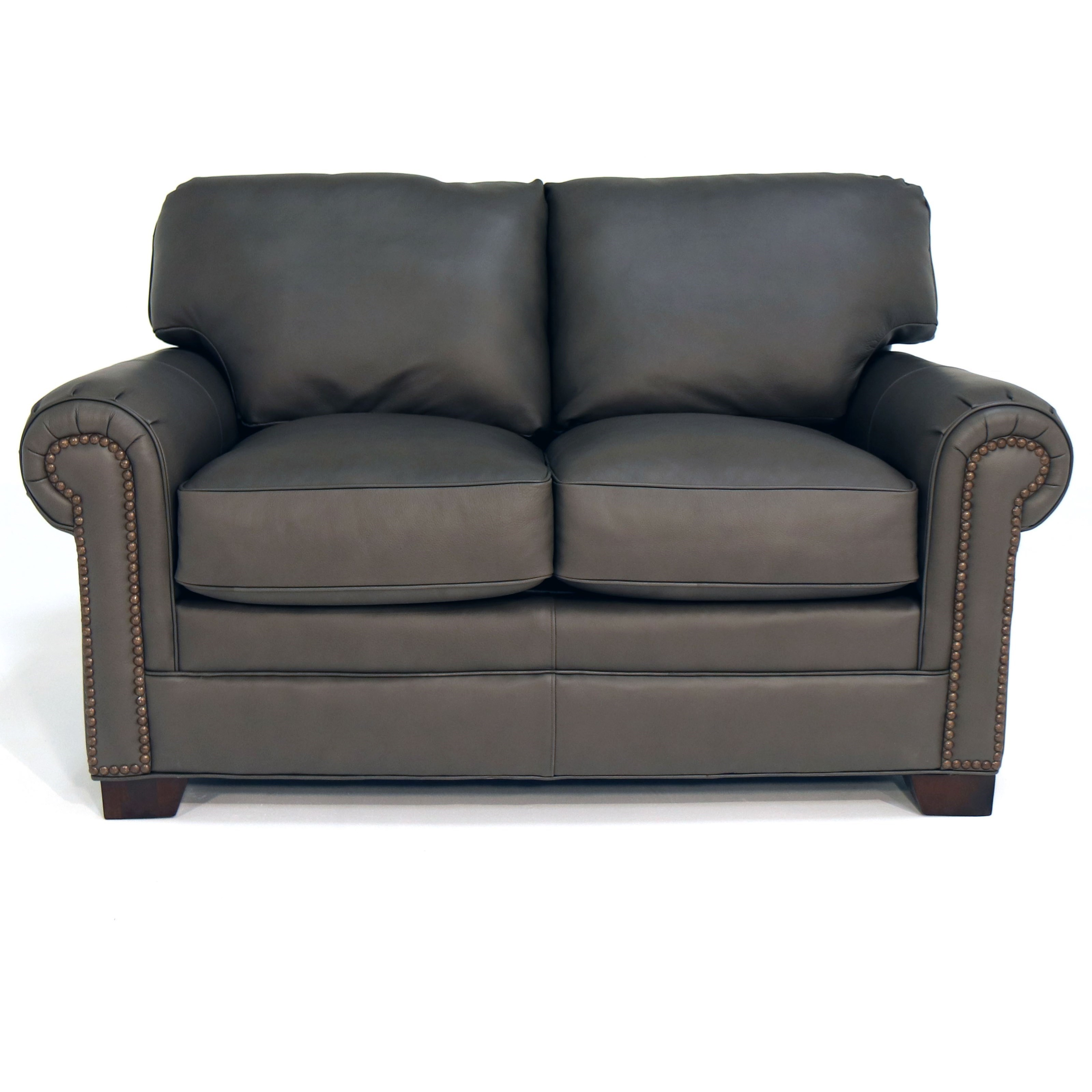 L756550 Loveseat w/ Nailheads by Craftmaster at Baer's Furniture