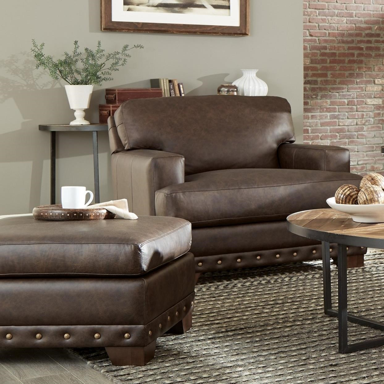 L782750 Chair & Ottoman Set by Craftmaster at Baer's Furniture