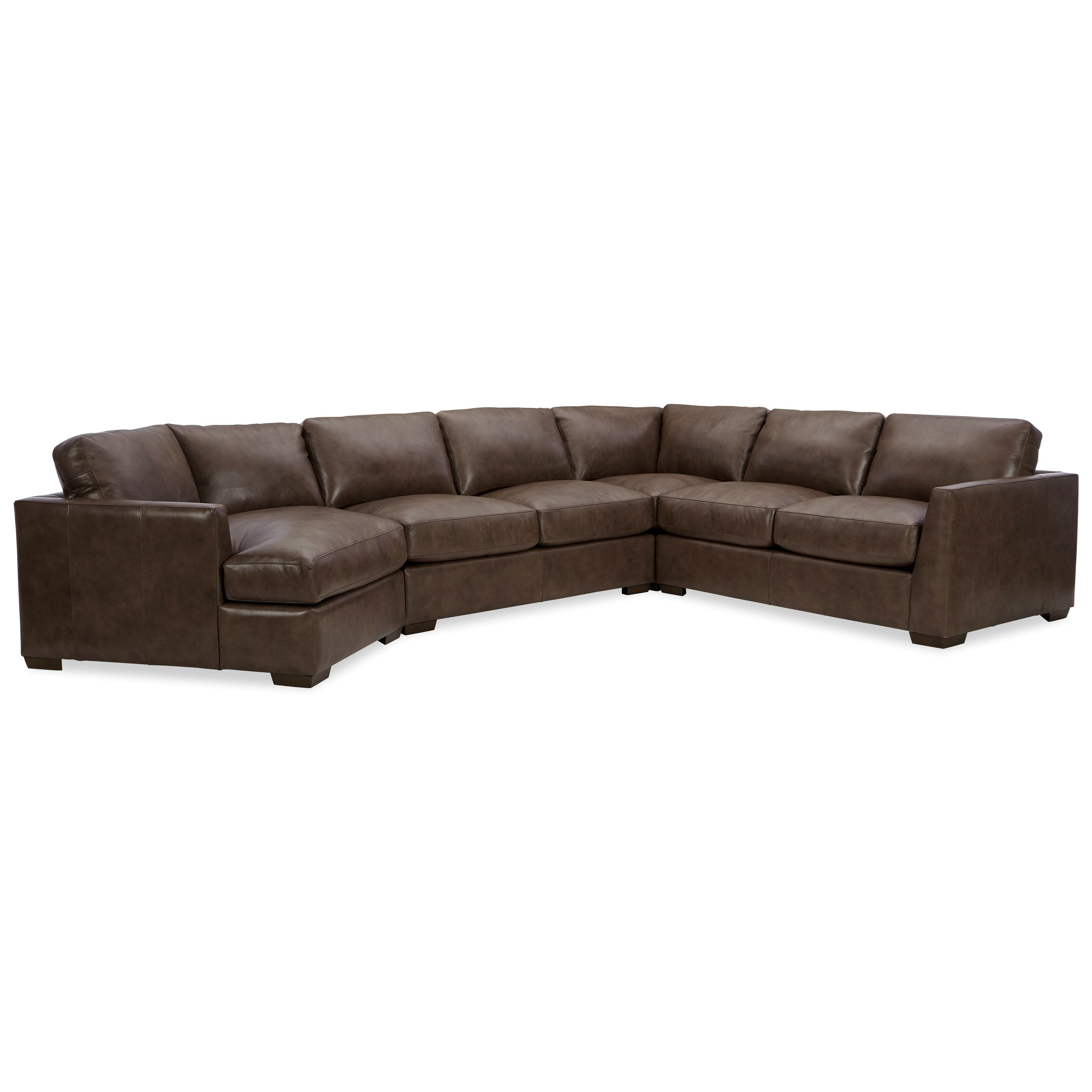 L783950 5-Seat Sectional Sofa with LAF Cuddler by Craftmaster at Baer's Furniture