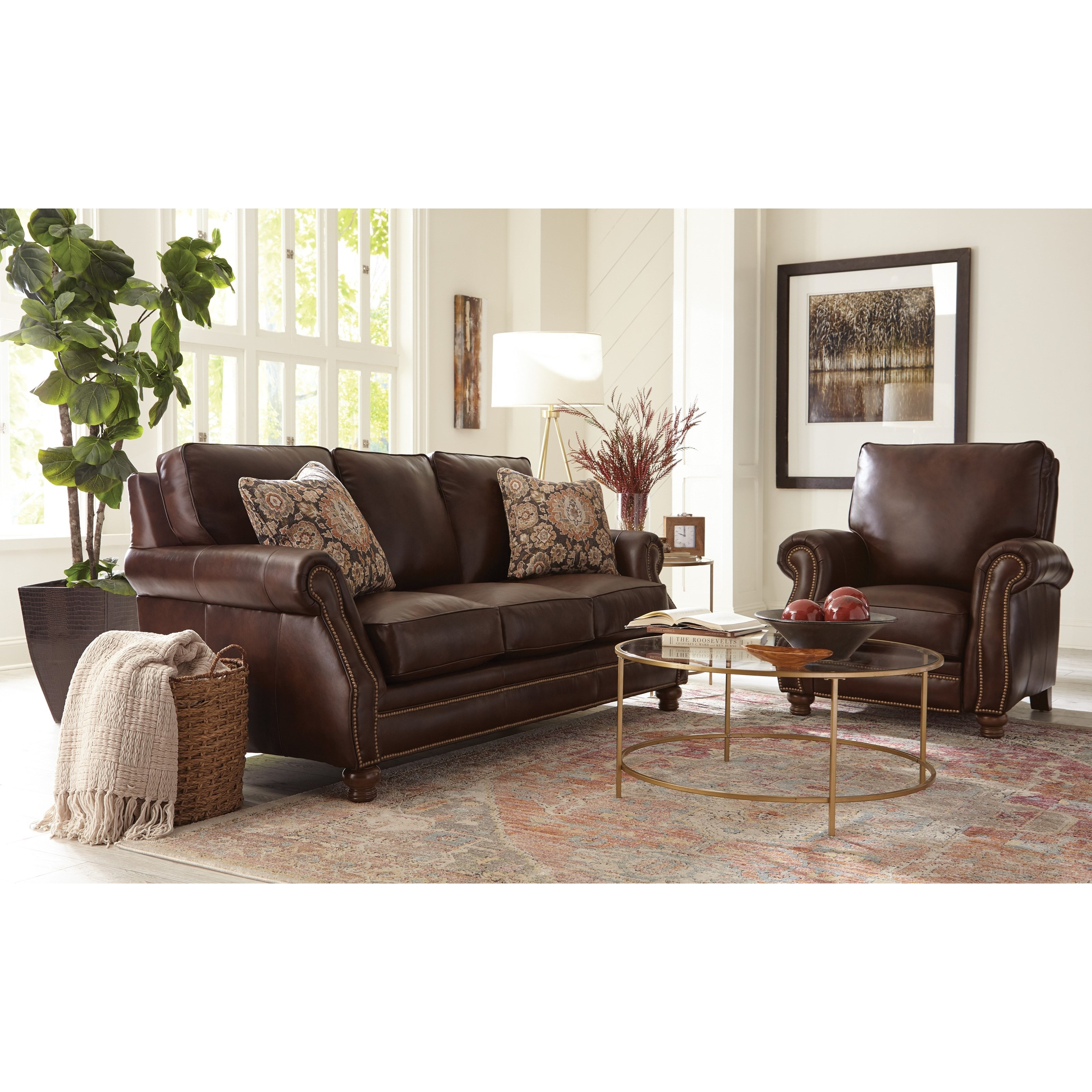 L791050BD Living Room Group by Hickory Craft at Godby Home Furnishings