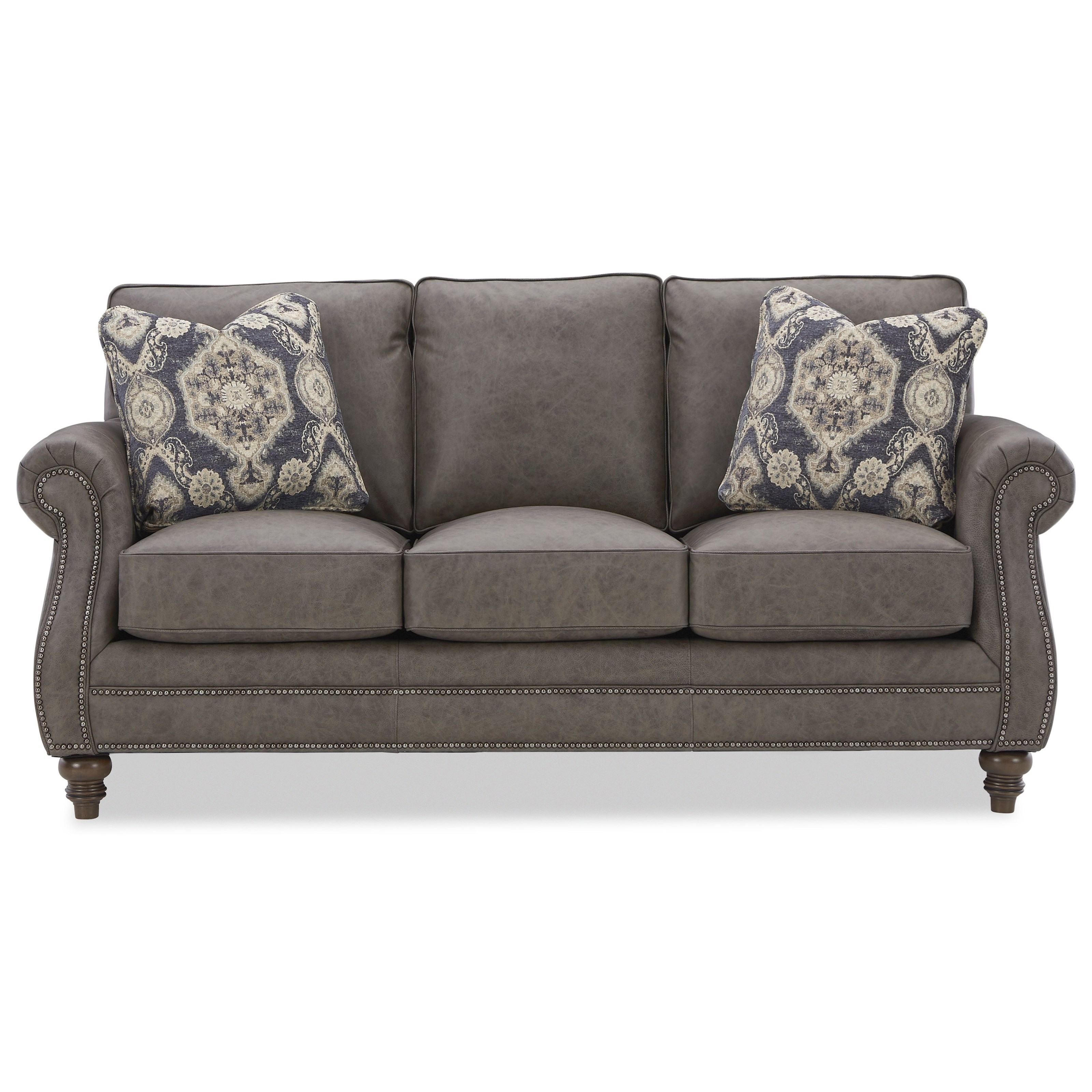 L791050BD Sofa with Pillows by Craftmaster at Baer's Furniture