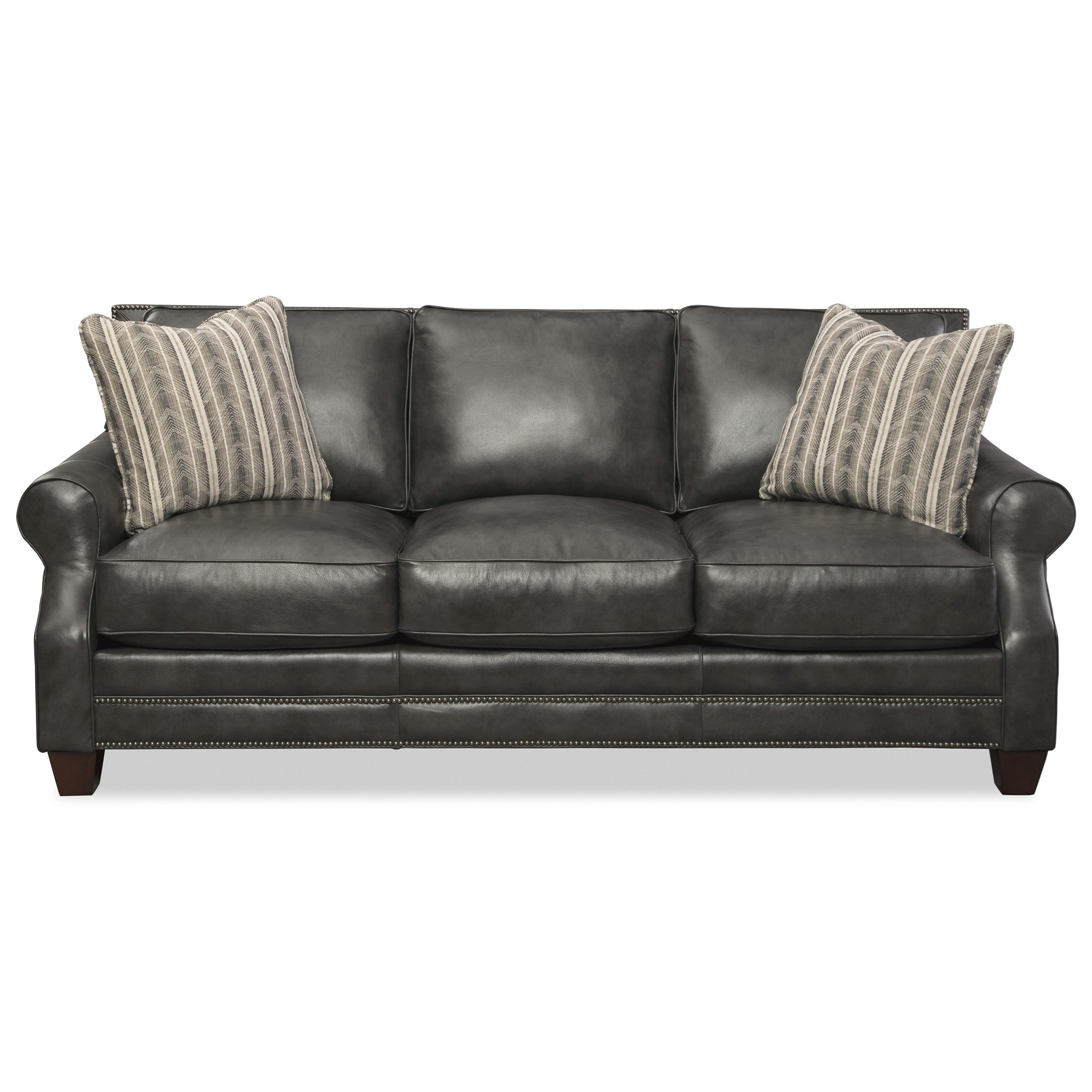 L793550BD Sofa with Accent Pillows by Craftmaster at Baer's Furniture