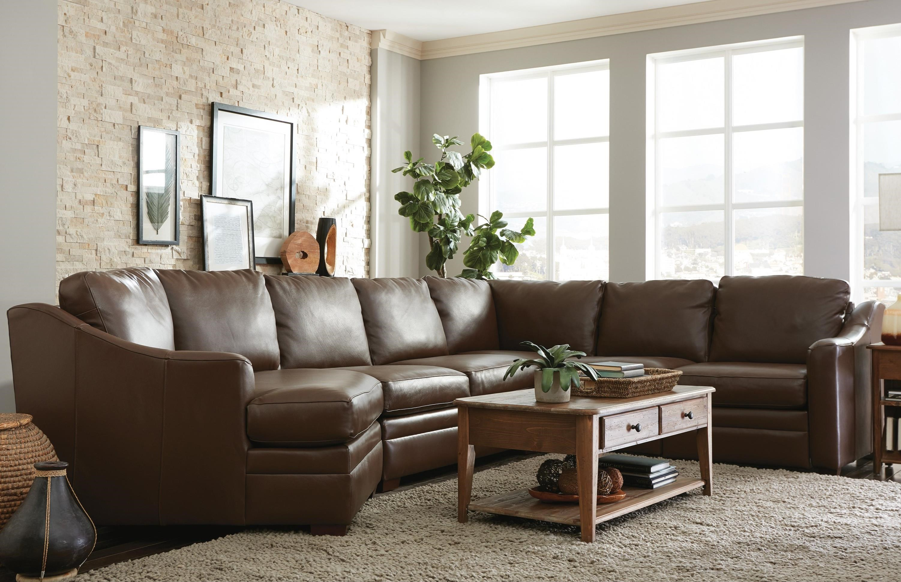 L9 Custom - Design Options Custom 3 Pc Sectional Sofa w/ Power Recliner by Craftmaster at Baer's Furniture