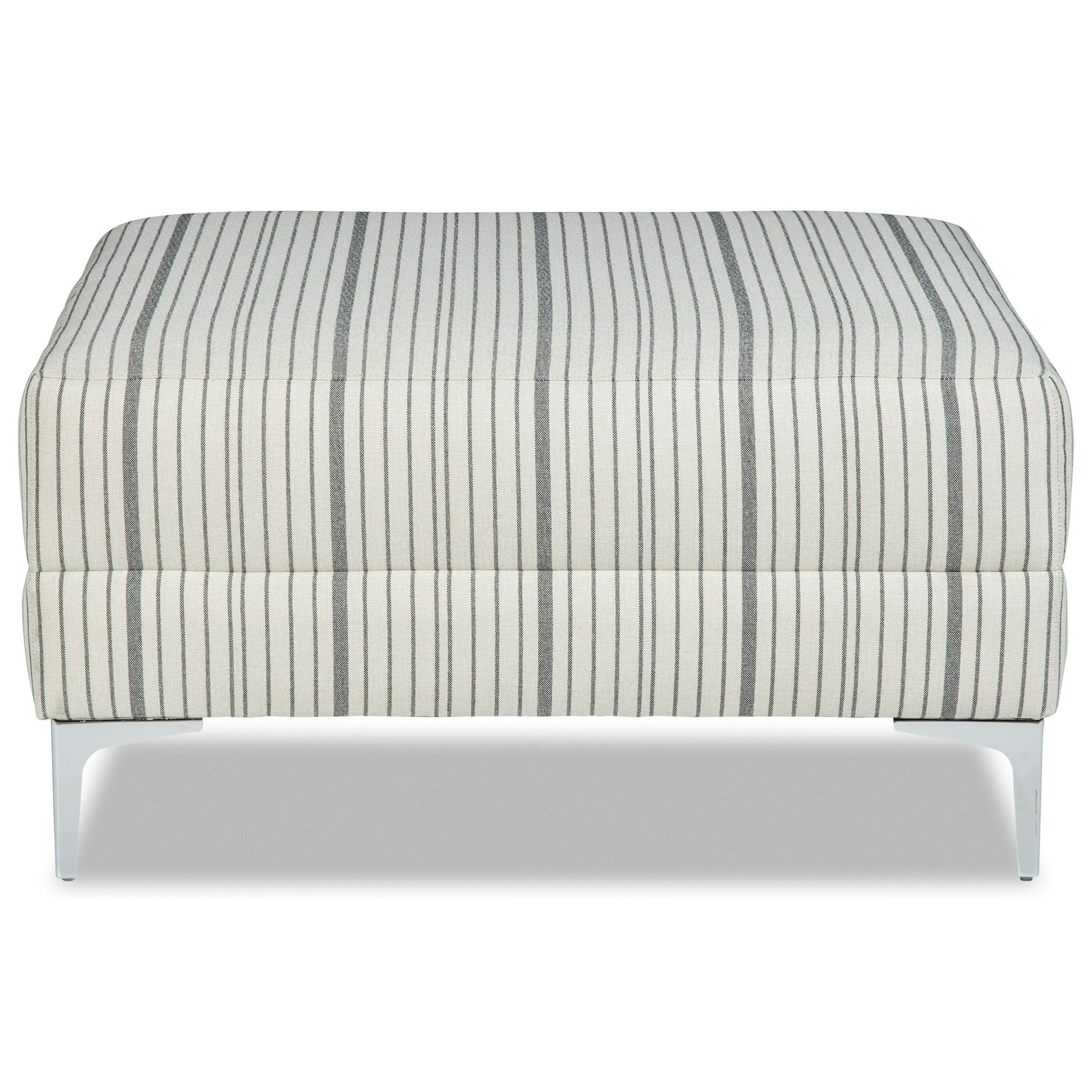 M9 Custom - Design Options Customizble Small Square Cocktail Ottoman by Craftmaster at Baer's Furniture