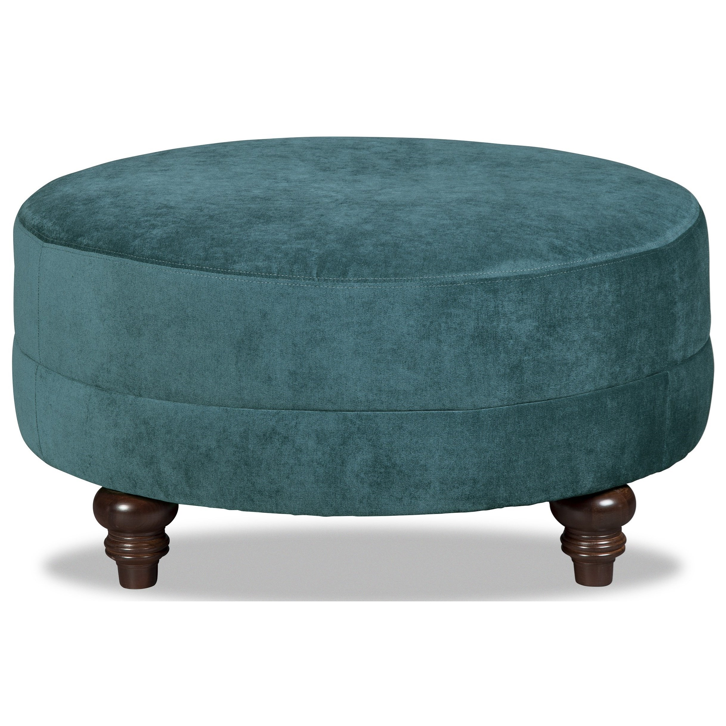 M9 Custom - Design Options Customizable Small Round Cocktail Ottoman by Craftmaster at Baer's Furniture