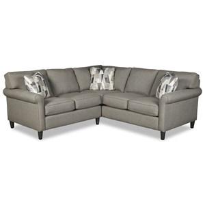 Customizable 4-Seat Sectional Sofa w/ RAF Return Sofa