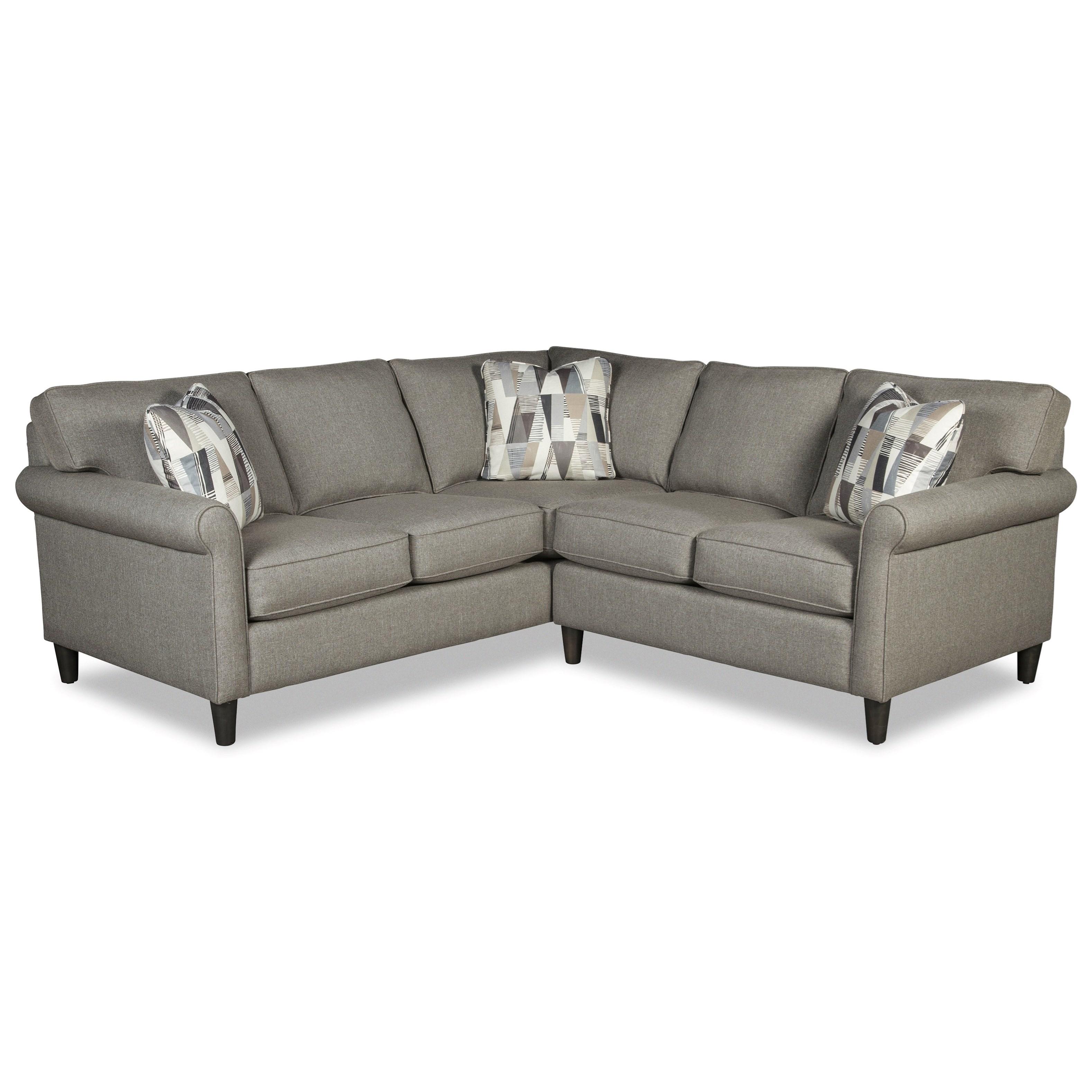 M9 Custom - Design Options 4-Seat Sectional Sofa w/ LAF Return Sofa by Craftmaster at Baer's Furniture