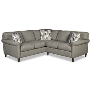 4-Seat Sectional Sofa w/ LAF Return Sofa