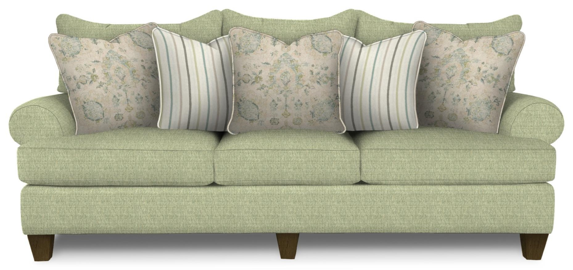Paula Dean 100 Inch Sofa by Hickorycraft at Johnny Janosik