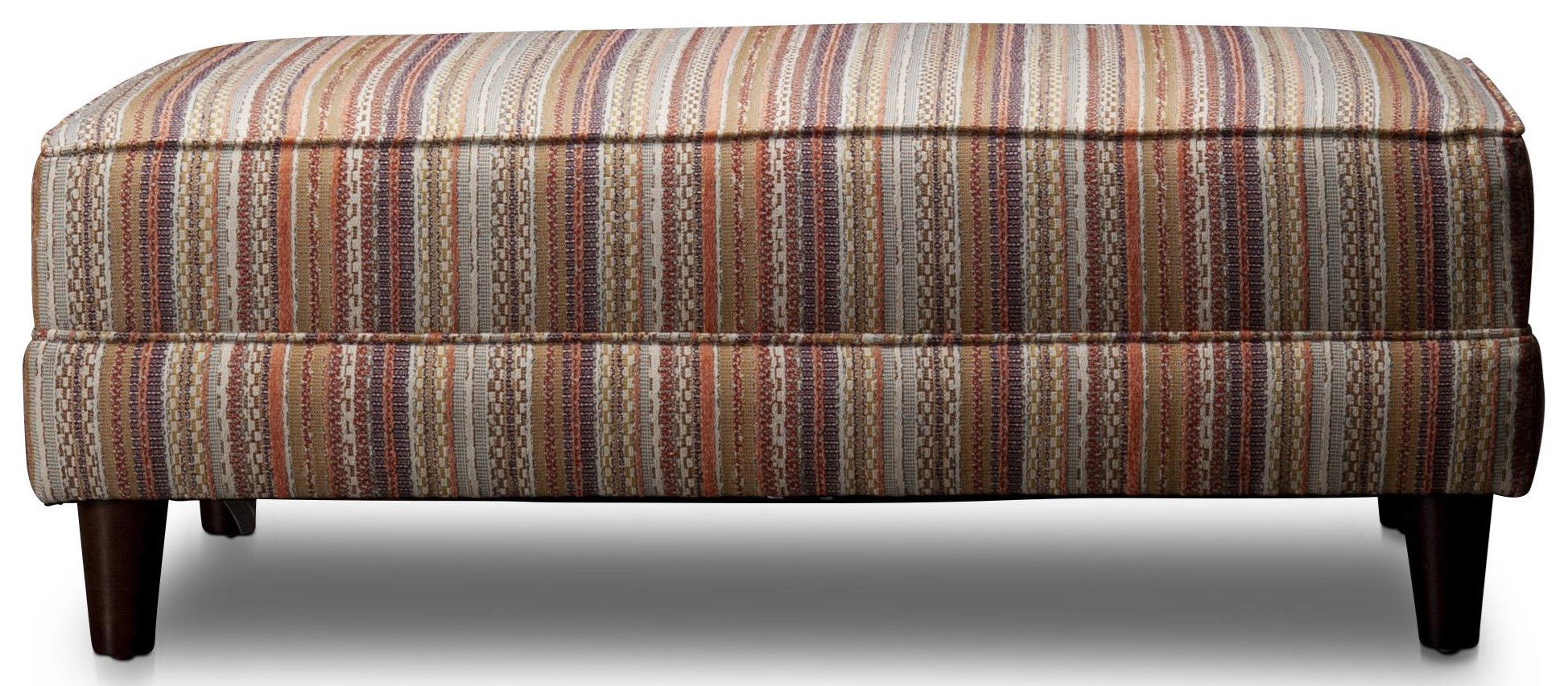 Petra Petra Cocktail Ottoman by Craftmaster at Morris Home