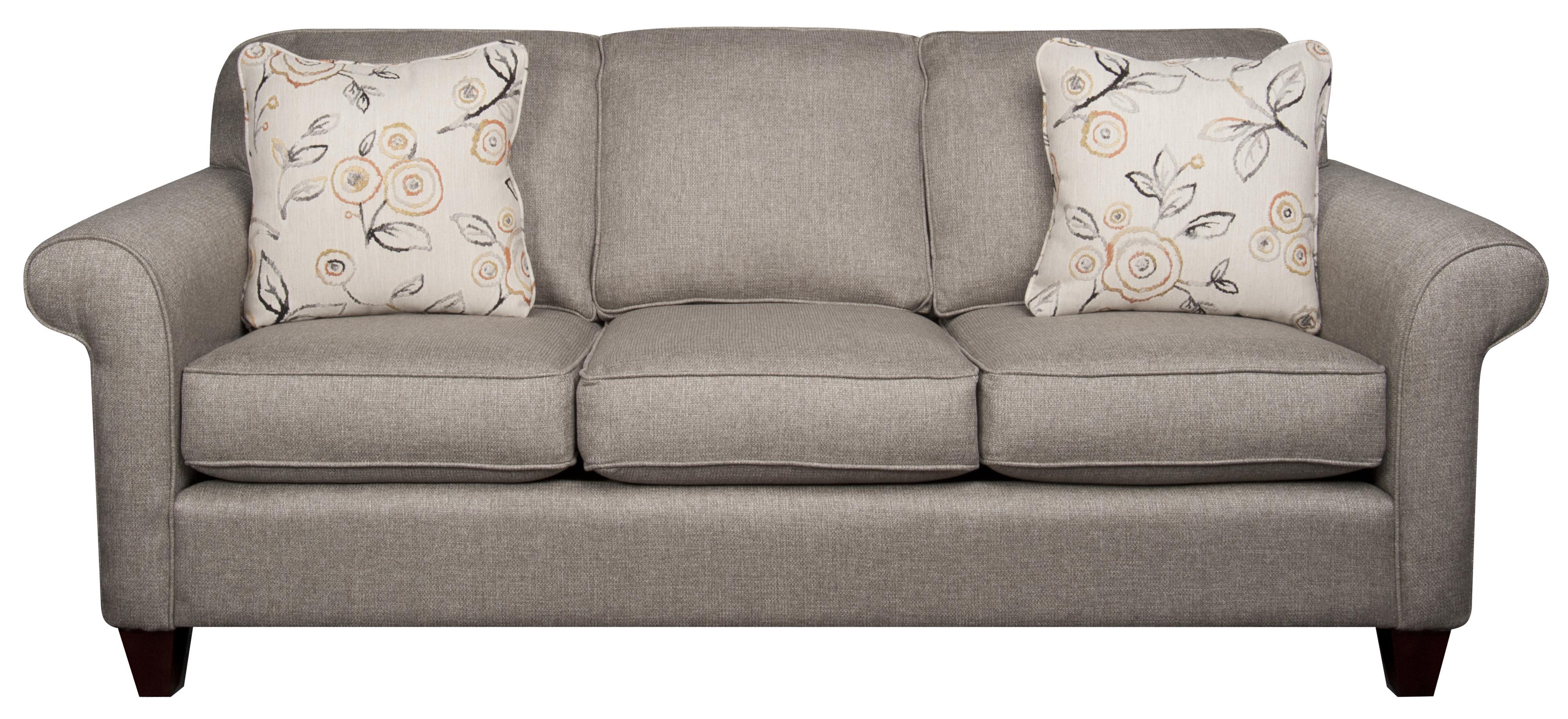 Sarah Sarah Revolution Fabric Sofa by Craftmaster at Morris Home
