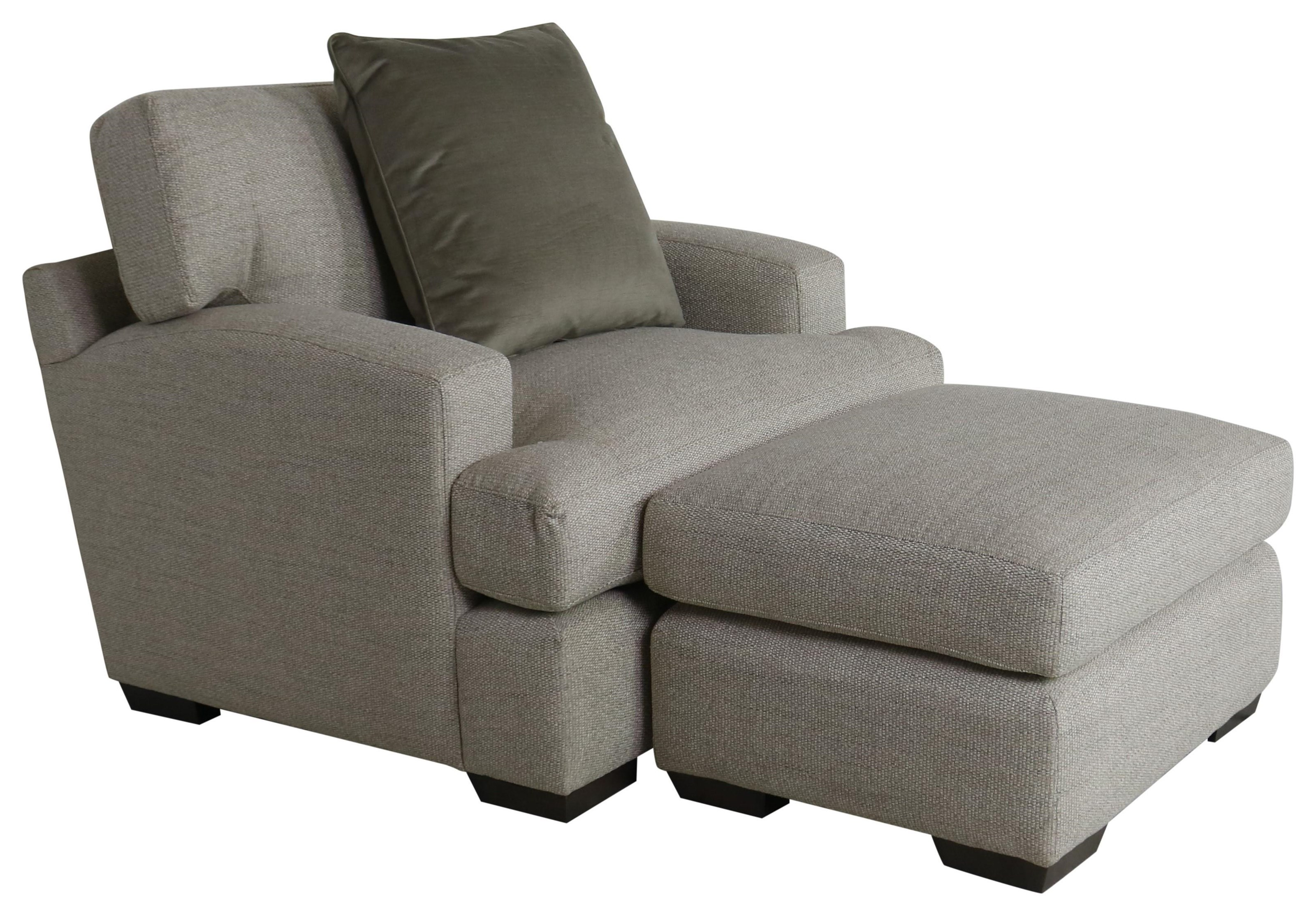 COZI LIFE Chair and Ottoman by Cozi Life Upholstery at Sprintz Furniture