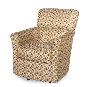 Craftmaster Swivel Chairs Upholstered Swivel Glider Chair