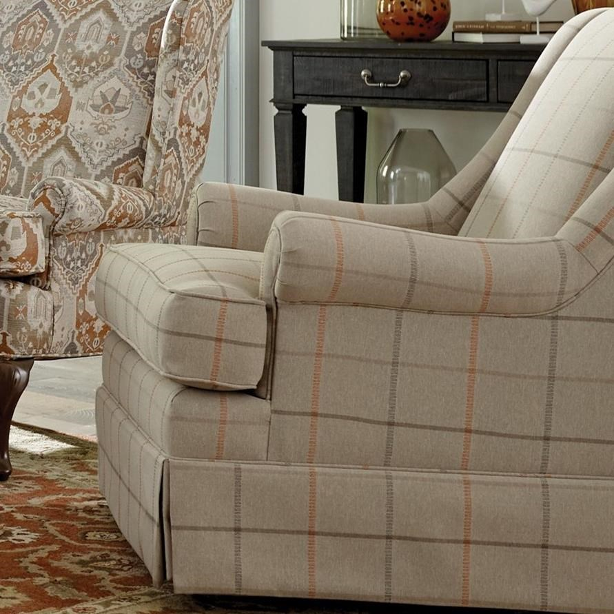 Swivel Chairs Swivel Glider Chair by Craftmaster at Suburban Furniture