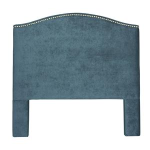 Craftmaster Upholstered Headboards F/Q Upholstered Headboard w/ Pewter Nails