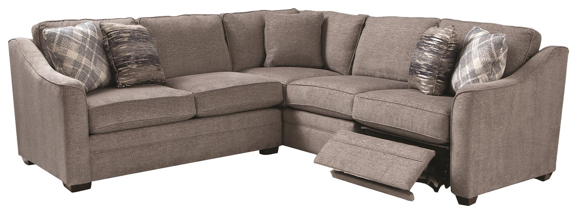 Wanderer 2 Piece Power Sectional by Craftmaster at Darvin Furniture