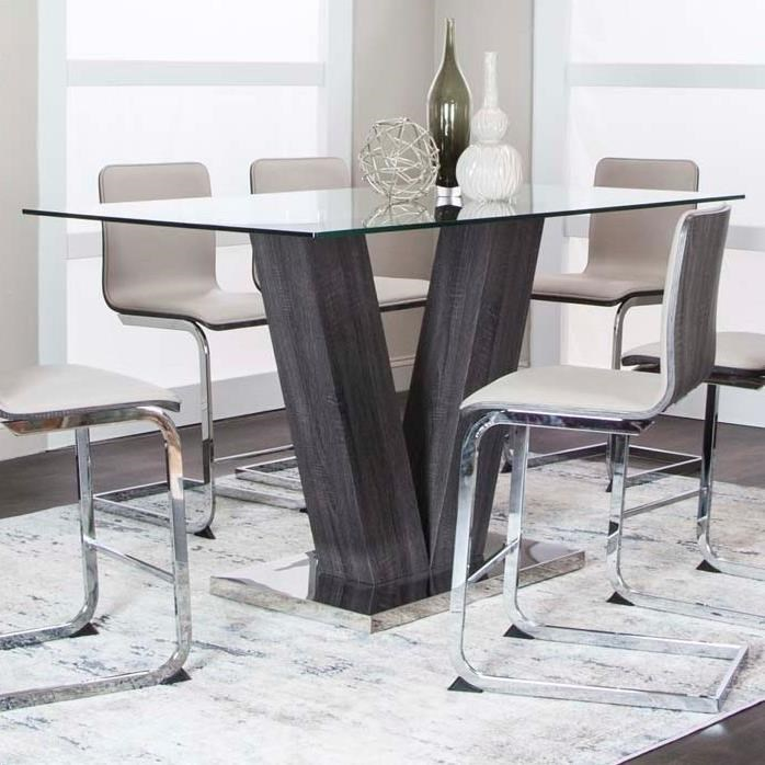 Axel Counter Table by Cramco, Inc at Lapeer Furniture & Mattress Center