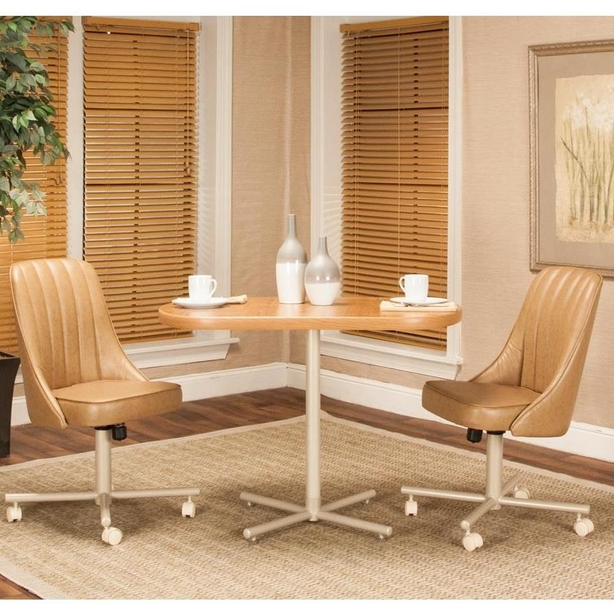 Connie 3-Piece Table and Chair Set by Cramco, Inc at Lapeer Furniture & Mattress Center