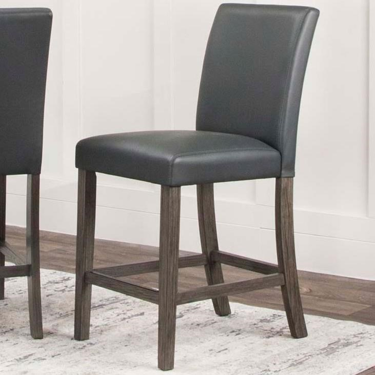 Cougar Counter Height Stool by Cramco, Inc at Lapeer Furniture & Mattress Center