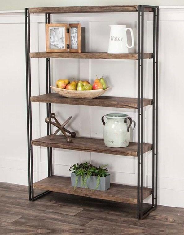 Daria - Daria 5 Shelf Bookcase at Morris Home