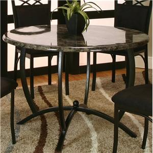 Round Table w/ Faux Marble Top