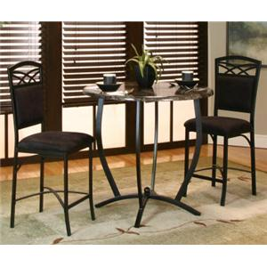 3 Piece Counter Table and Stool Set