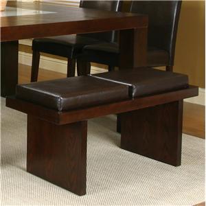 Two Cushion Bench