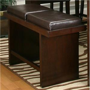 """24"""" Two Cushion Counter Bench"""