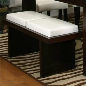 Cramco, Inc Contemporary Design - Kemper Two Cushion Bench