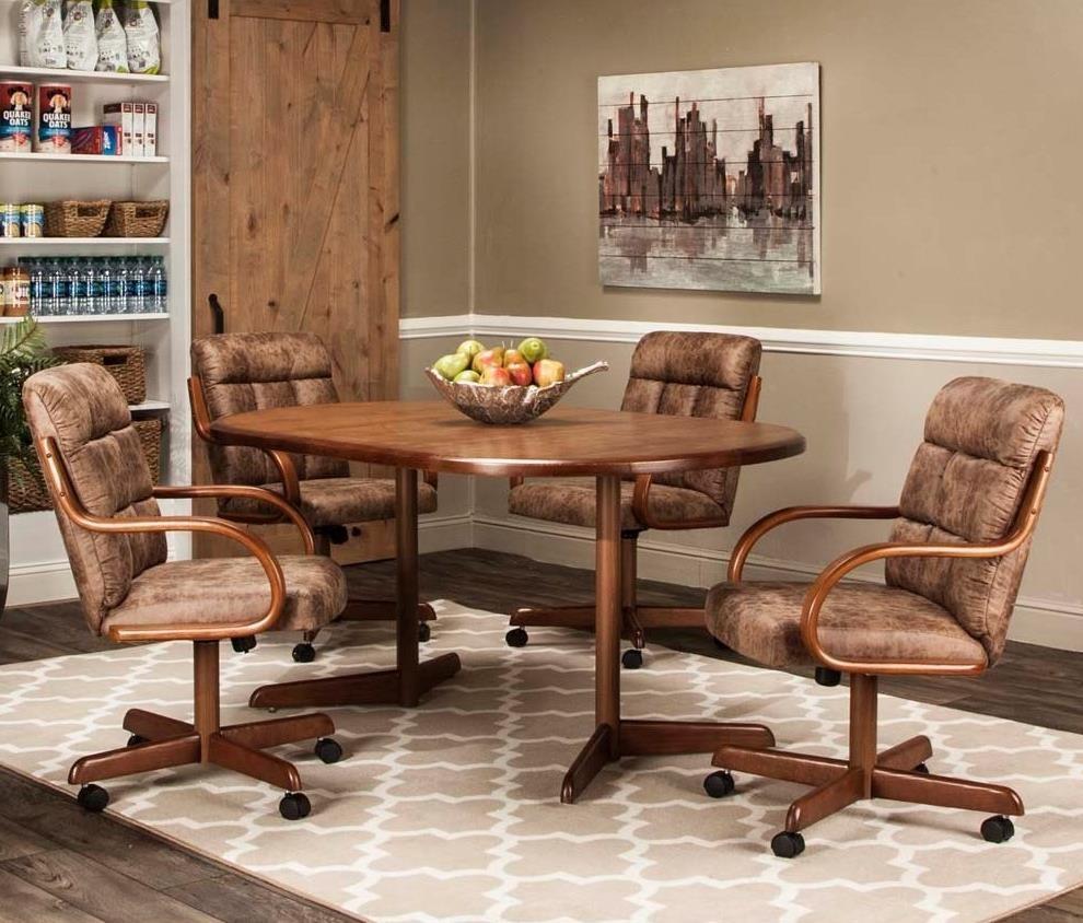 Lakota 5-Piece Dining Set by Cramco, Inc at Lapeer Furniture & Mattress Center