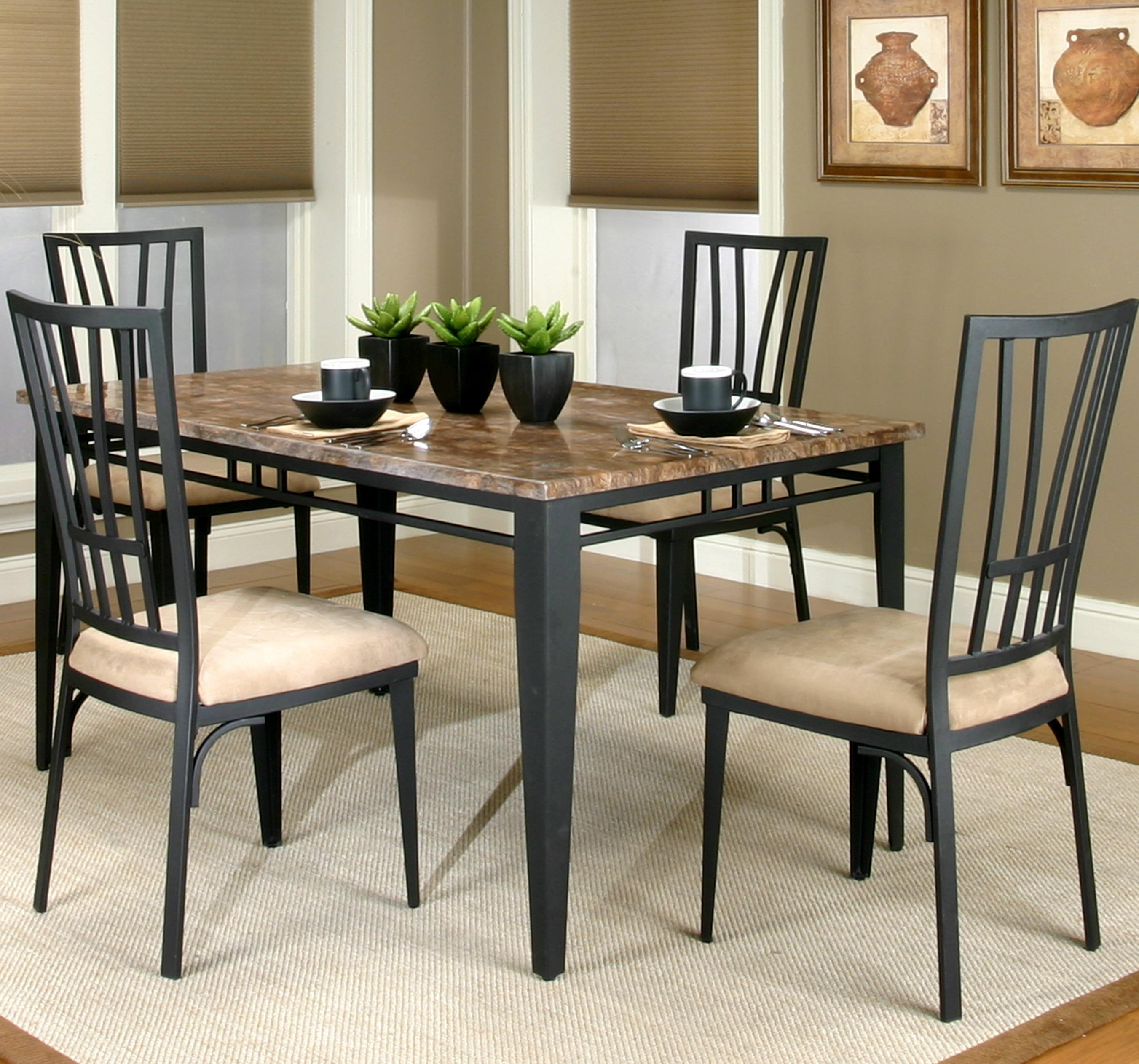 Cramco Trading Company - Lingo Table and Chair 5 Piece Set by Cramco, Inc at Corner Furniture