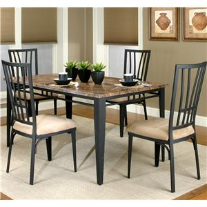 Cramco, Inc Cramco Trading Company - Lingo Table and Chair 5 Piece Set