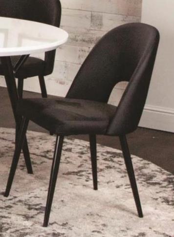 Magellan Magellan Black Side Chair at Morris Home