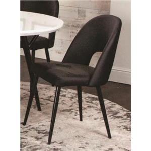 Magellan Black Side Chair