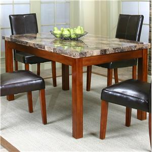Rectangular Casual Table w/ Faux Marble Top