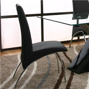 Cramco, Inc Mensa Black Side Chair
