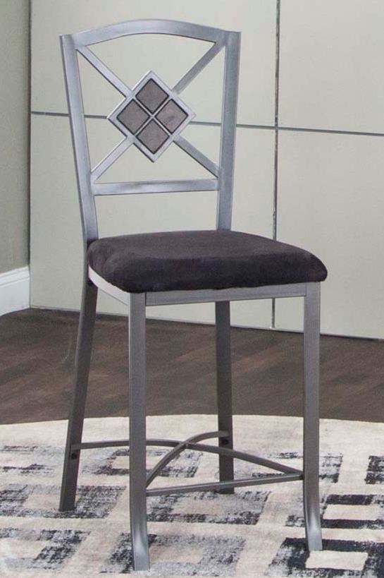 Milano Counter Height Chair by Cramco, Inc at Lapeer Furniture & Mattress Center
