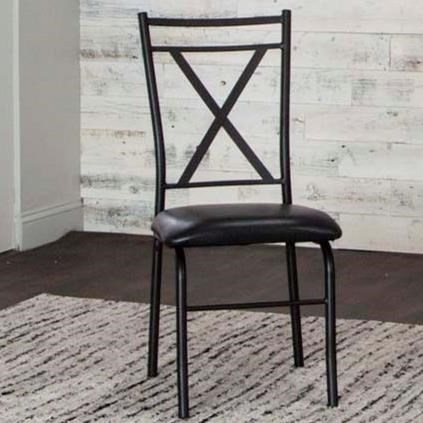 Parx X-Back Side Chair by Cramco, Inc at Nassau Furniture and Mattress
