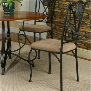 Dining Room Side Chair w/ Upholstered Seat