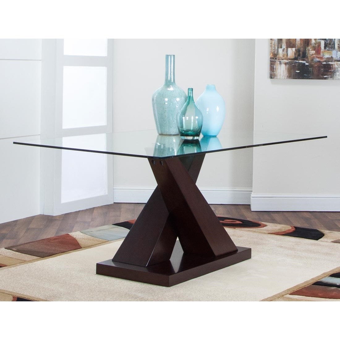 Sienna Dining Table by Cramco, Inc at Lapeer Furniture & Mattress Center