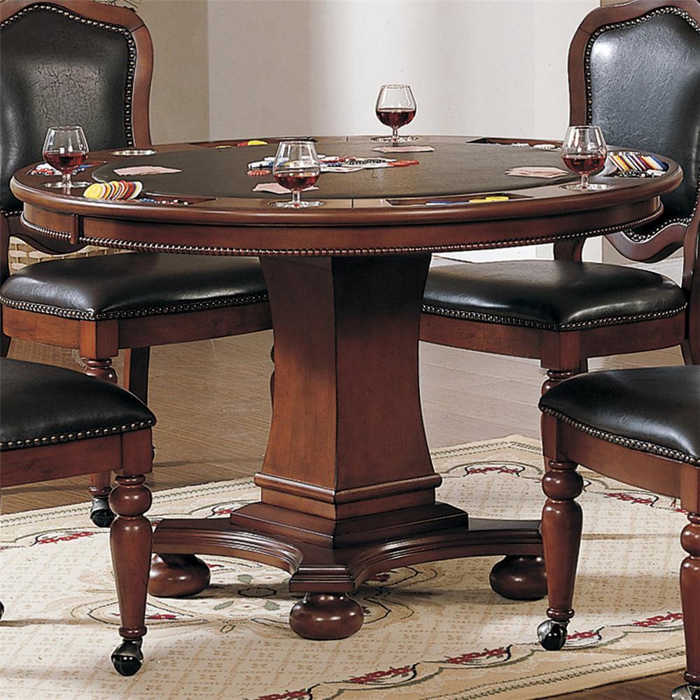 Timber Lane - Faran Round Game Table by Cramco, Inc at Lapeer Furniture & Mattress Center
