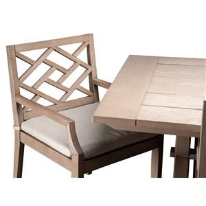 Myrtle Outdoor Dining Arm Chair