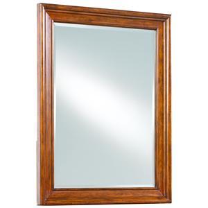Cresent Fine Furniture Cresent Classics - Casual Living Landscape Mirror