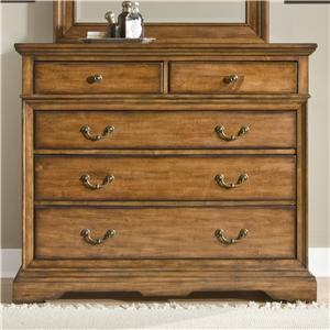 Cresent Fine Furniture Cresent Classics - Casual Living Small Media Dresser